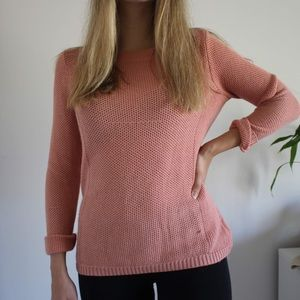 Forever 21 Salmon Knit Sweater